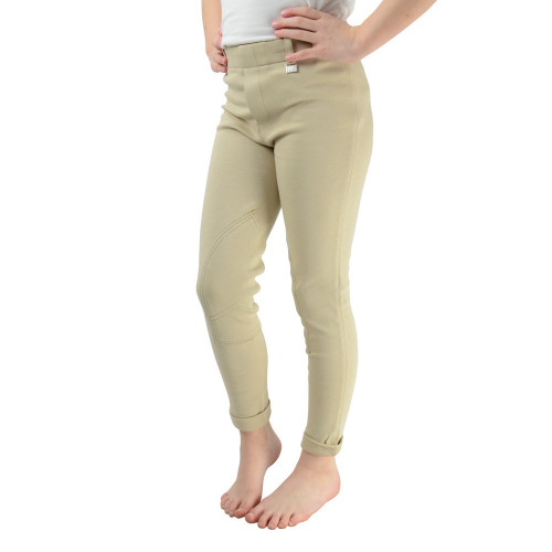HyPERFORMANCE Milligan Children's Jodhpurs - Beige - 18''