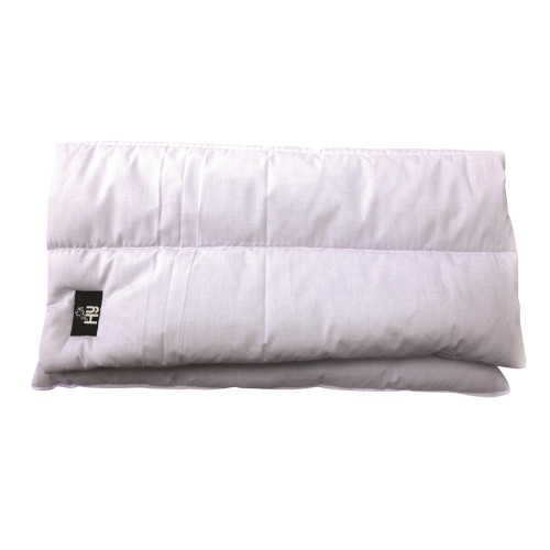 Hy Quilted Leg Pads - 300g Polyfilling - Set of 4 White