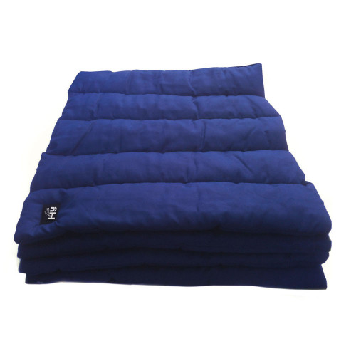 Hy Quilted Leg Pads - 300g Polyfilling - Set of 4 Navy