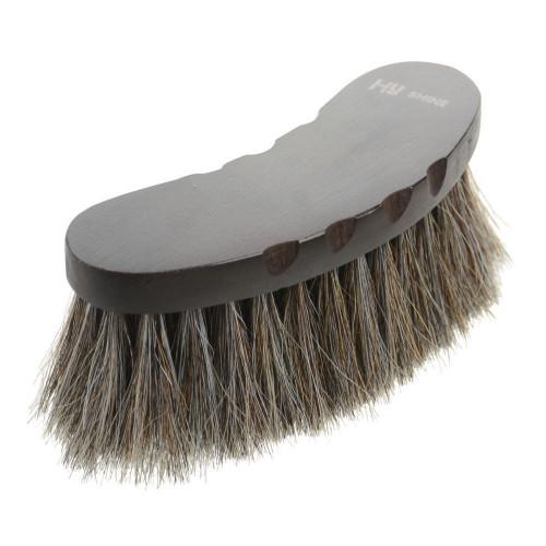 HySHINE Deluxe Half Round Brush with Horse Hair