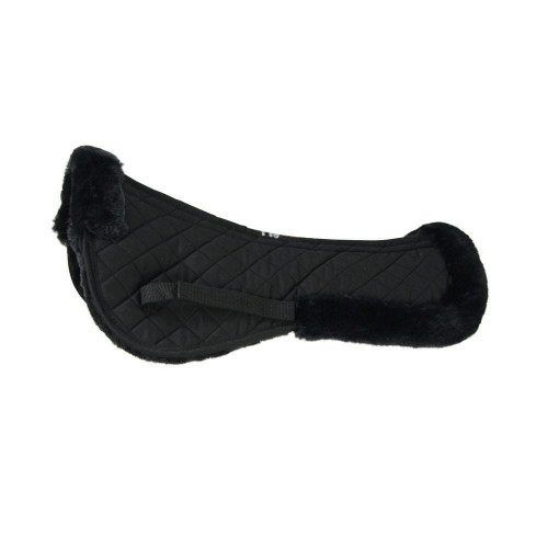 HySPEED Fab Fleece Half Pad in Black
