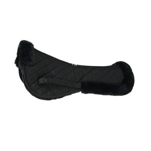 HySPEED Fab Fleece Half Pad in Black