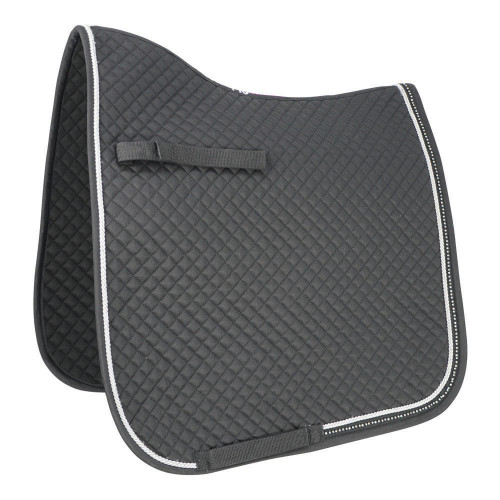 HyWITHER Diamond Touch Dressage Pad - White - Cob/Full