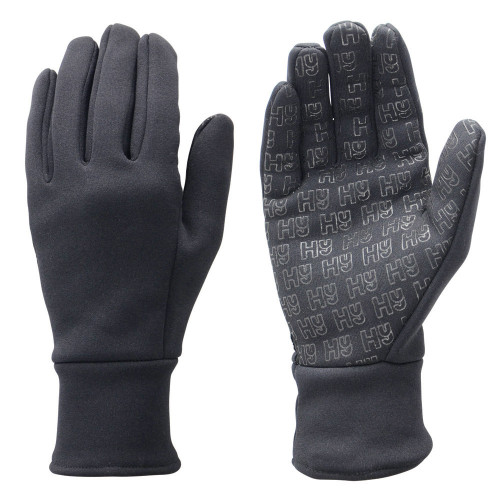 Hy5 Ultra Grip Neoprene Fleece Gloves in Black in extra small