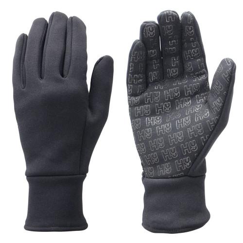 Hy5 Ultra Grip Neoprene Fleece Gloves in Black in extra small