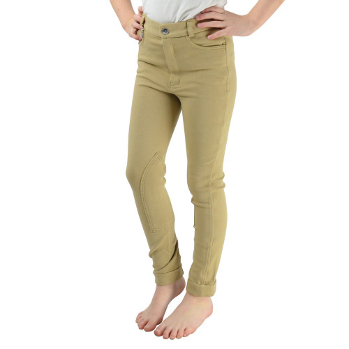 HyPERFORMANCE Burton Children's Jodhpurs - Beige - 18""