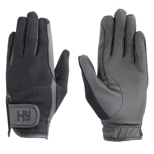 Hy5 Pro Competition Grip Gloves in Black in extra small
