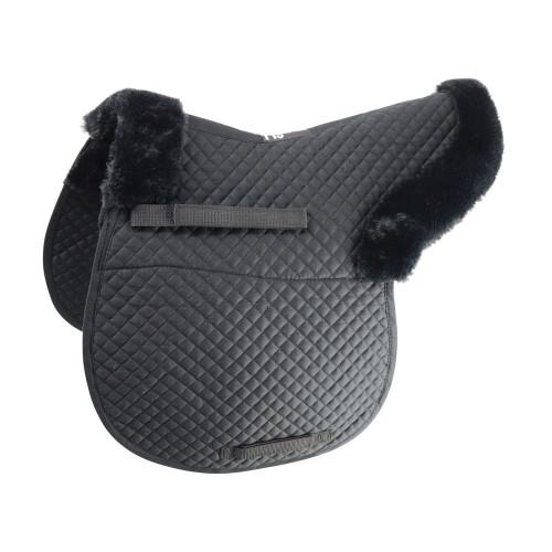 HySPEED Fab Fleece Lined Numnah in Black