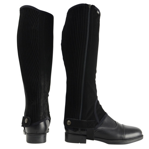 HyLAND Synthetic Nubuck Chaps in Black size extra small