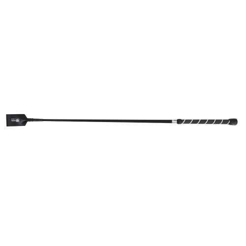 HySCHOOL Hy Twister Riding Whip in Black/White