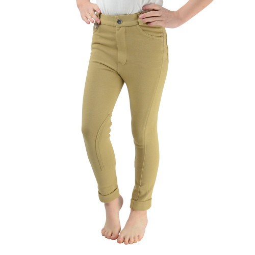 HyPERFORMANCE Melton Children's Jodhpurs - Beige - 18''