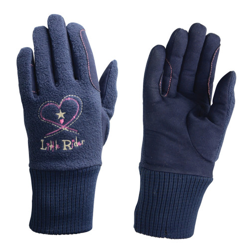 Riding Star Children's Winter Gloves - Navy - Children's in Small