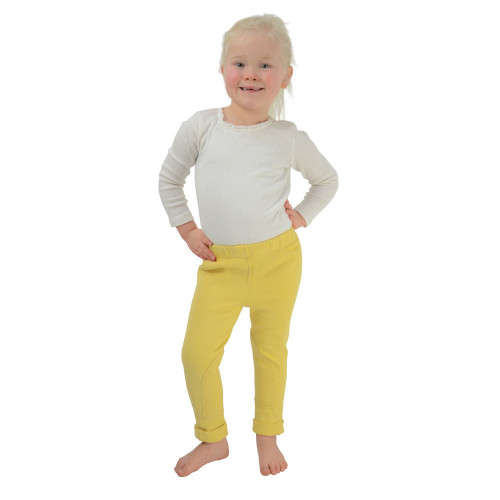 HyPERFORMANCE Zeddy Tots Jodhpurs - Canary - Small