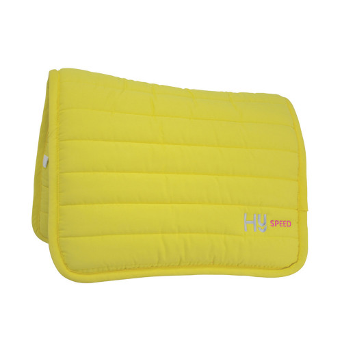HySPEED Neon Reversible Comfort Pad in Bright yellow