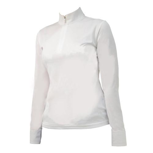 HyFASHION Charlotte Long Sleeved Show Shirt - White - X Small