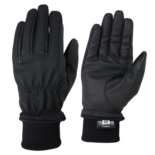 Hy5 Storm Breaker Thermal Gloves in Black in extra small