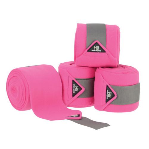 Hy Sport Active Luxury Bandages - Bubblegum Pink - Cob/Full