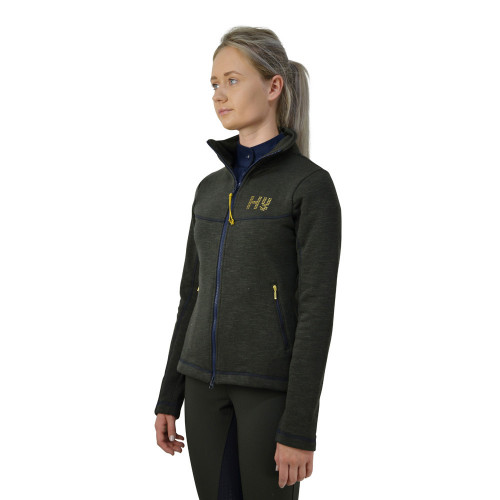 HyFASHION Edinburgh Ladies Jacket - Olive Green/Midnight Navy - X Small