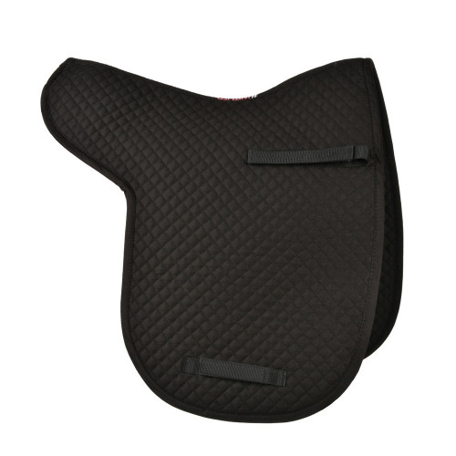 Full View HyWITHER Competition Dressage Numnah in Black in Cob/Full Size