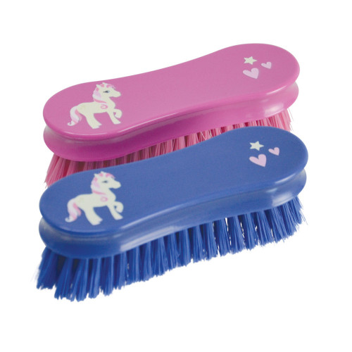 Little Rider Face Brush - Cameo Pink - 13.9 x 6.9cm