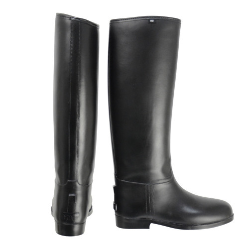 HyLAND Children's Long Greenland Waterproof Riding Boots in Black size 29