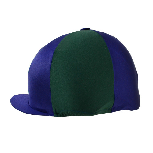 HyFASHION Two Tone Hat Cover - Navy/Bottle Green - One Size