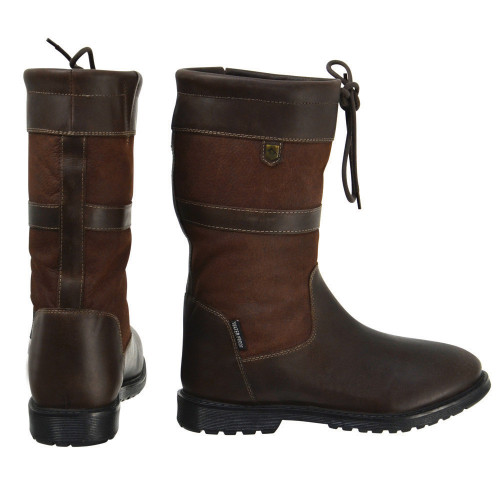 HyLAND Buxton Short Country Boots size 36 in Dark Brown