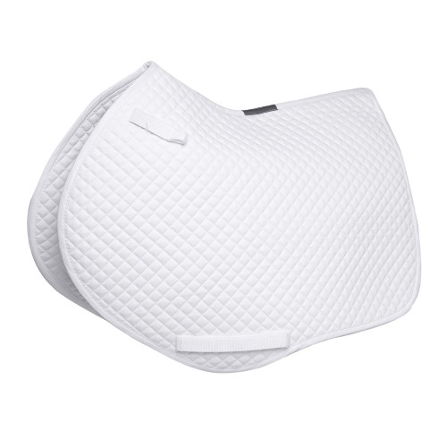 HyWITHER Competition Close Contact Saddle Pad - White - Cob/Full