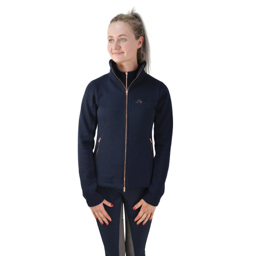 HyFASHION Kensington Ladies Jacket - Navy/Taupe/ Rose Gold - X Small