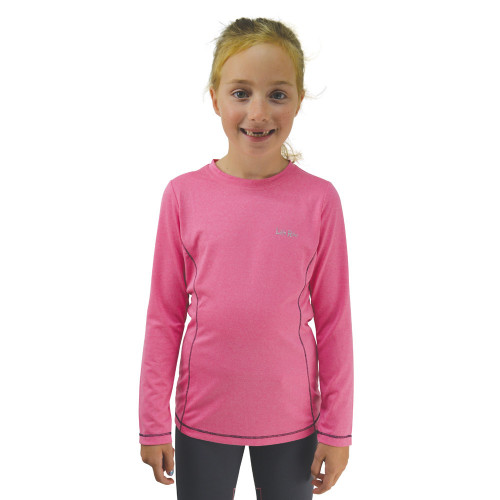 Little Rider Base Layer - Rose Pink/Navy - 5-6 Years