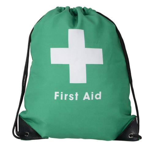 HyHEALTH First Aid Bag - Green/Black - One Size