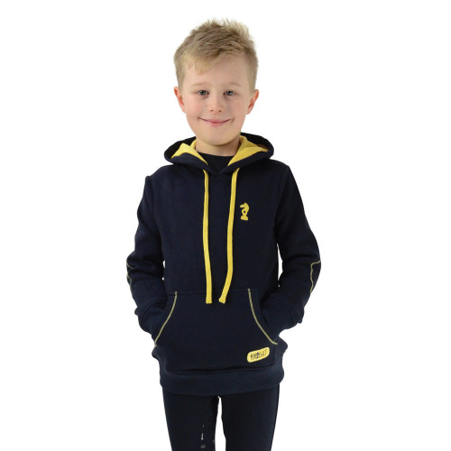Lancelot Hoodie by Little Knight - Navy/Yellow - 3-4 Years
