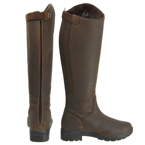 HyLAND Waterford Country Riding Boots in Dark Brown size 36