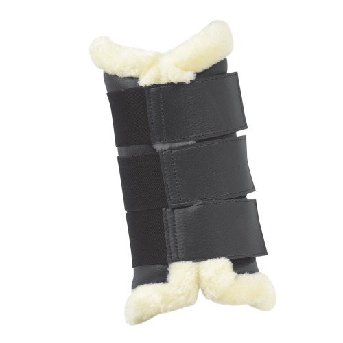 HyIMPACT Combi Leather Brushing Boots in Black in medium