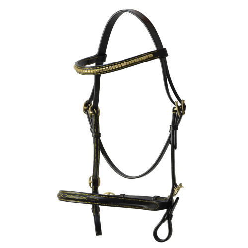 Hy In-Hand Bridle - Black - Pony