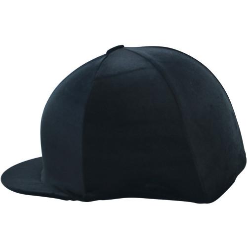 HyFASHION Velour Soft Velvet Hat Cover - Black - One Size