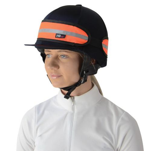HyVIZ Hat Band Orange/Black