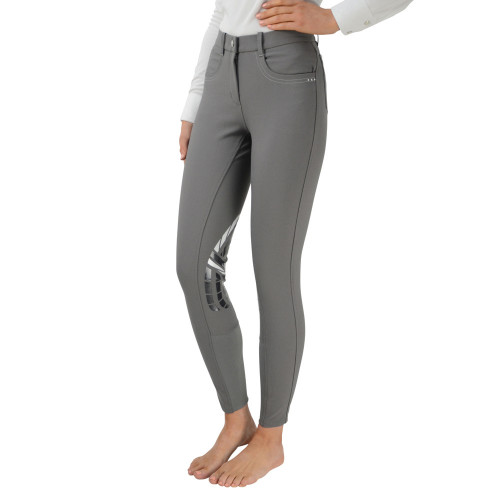 """HyPERFORMANCE Corby Cool Ladies Breeches - Grey - 24"""""""