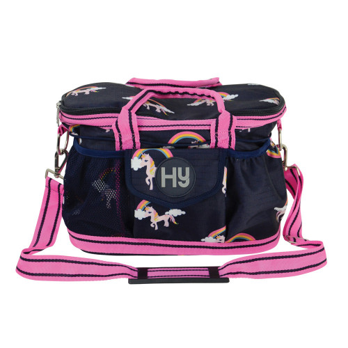 Hy Unicorn Grooming Bag - Navy/Pink