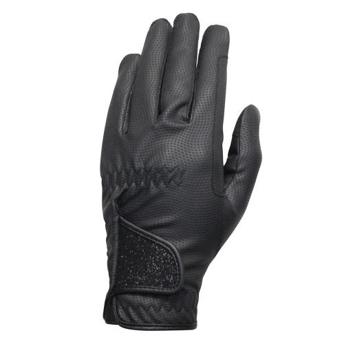 Hy5 Roka Advanced Riding Gloves in Black/Black in extra small