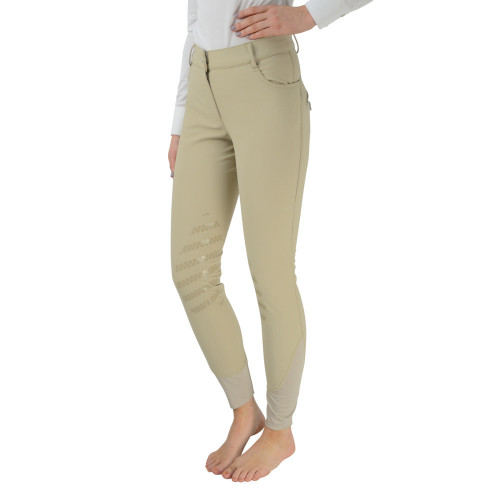 """HyPERFORMANCE Thermal Softshell Breeches - Beige - 26"""""""
