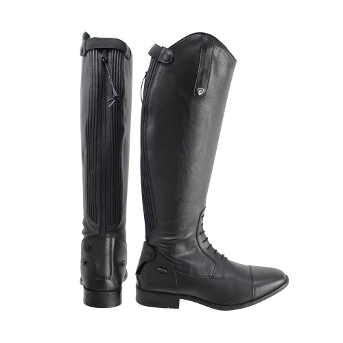 HyLAND Tuscan Riding Boot in Black with a wide calf in size 36