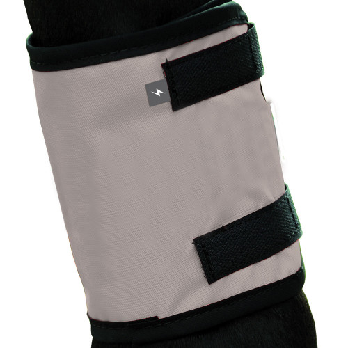 Silva Flash Reflective Leg Band by Hy Equestrian - Reflective Silver in Pony