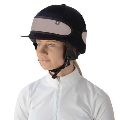 Silva Flash Reflective Hat Band by Hy Equestrian - Reflective Silver in One Size
