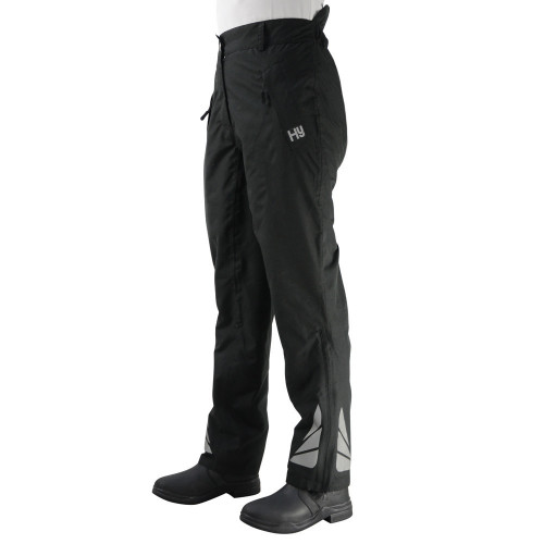 HyFASHION Waterproof Reflective Over Trousers - Black - X Small