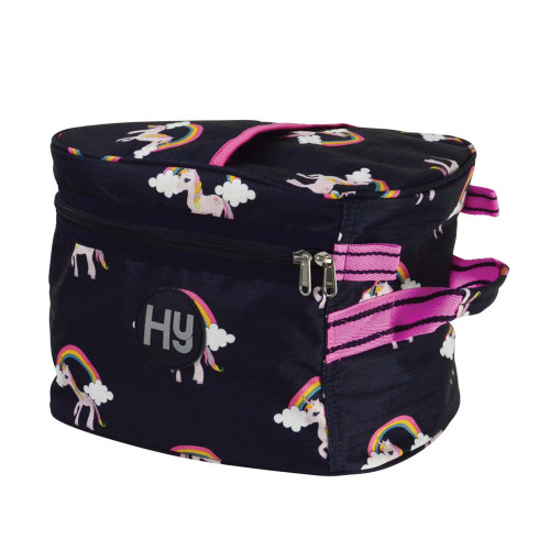 Hy Unicorn Hat Bag - Navy/Pink - One Size