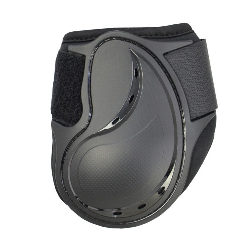 Inside of Hy Armoured Guard Pro Protect Compliant Fetlock Boots in Black in small