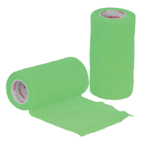 HyHEALTH Sportwrap in Bright Green - 10cm x 4.5m
