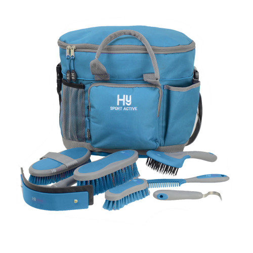 Hy Sport Active Complete Grooming Bag - Aegean Green