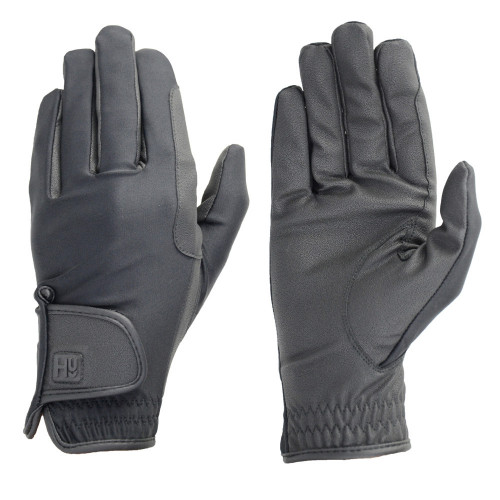 Hy5 Riding Gloves in Black in Childs extra small
